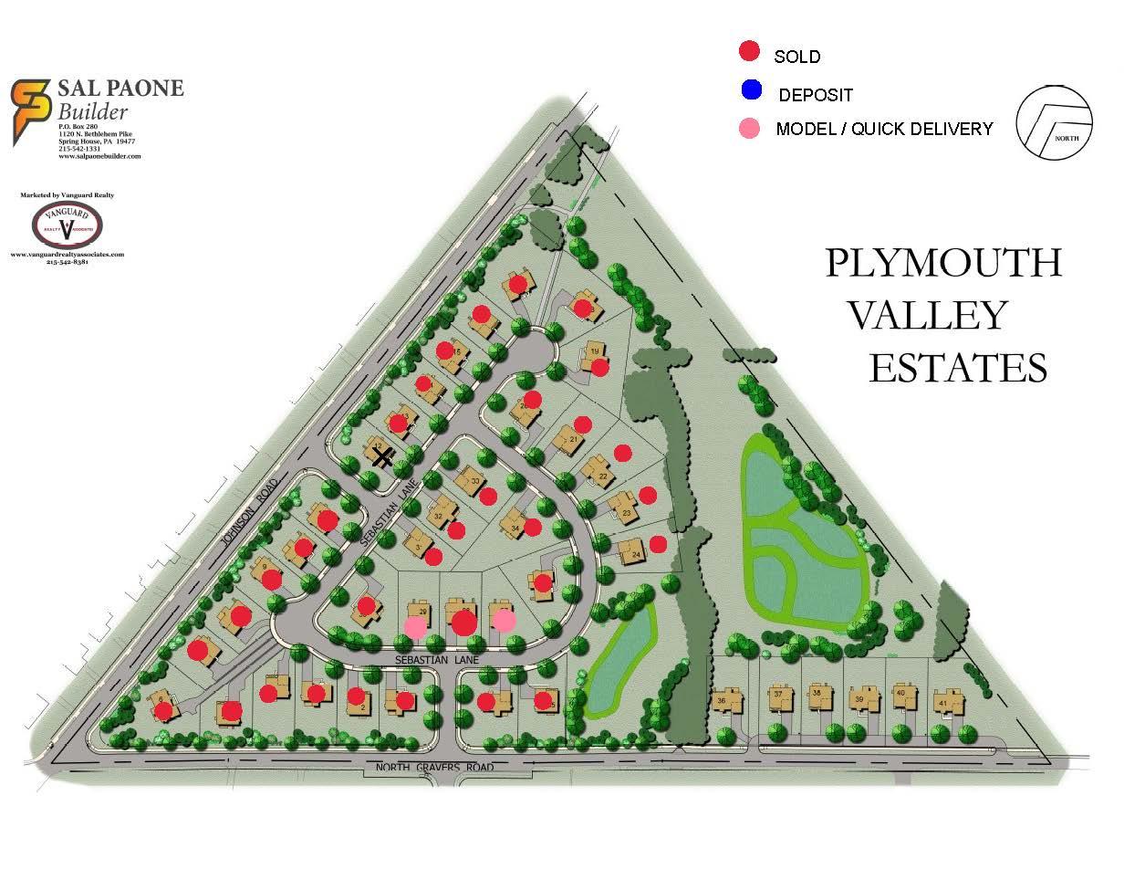 Plymouth Valley Estates Site Plan